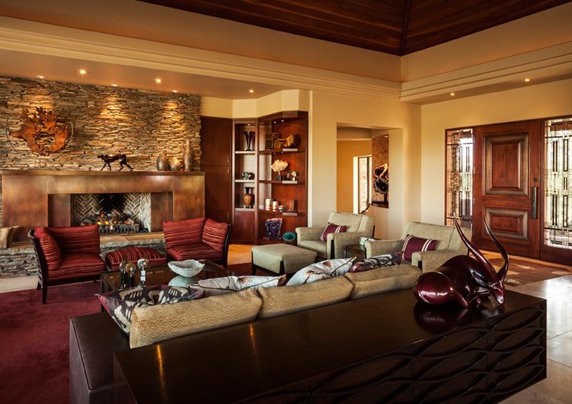 Desert Mountain home connection to Arizona environment