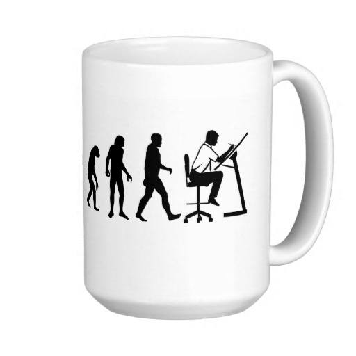 evolution of architect mug