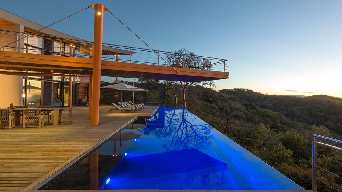 return on design for luxury rentals in costa rica