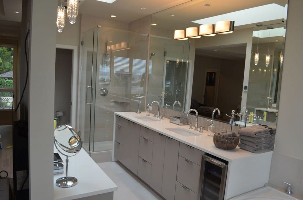 Designing an age-friendly home: West Vancouver Bathroom Project (home designer Aryo Falakrou)
