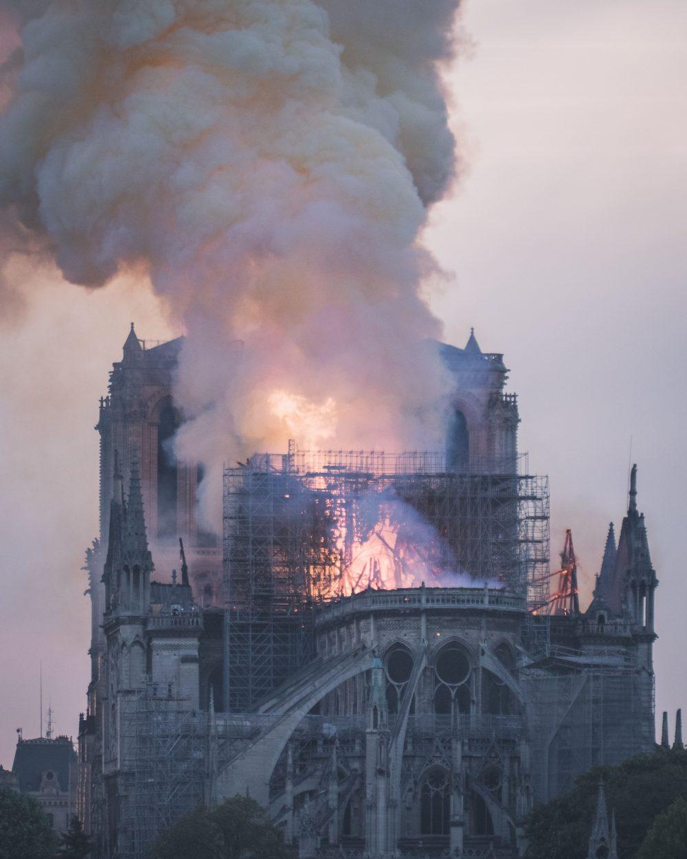 Iranian Baha'i Architect Farnaz Mansuri on the Notre Dame Cathedral Burning